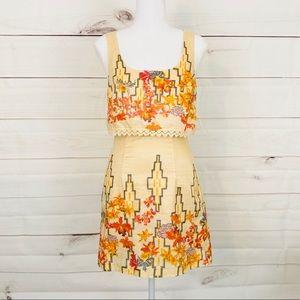 💕🌵Free People Aztec Print Mini Dress Size 0